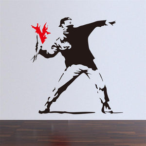 Banksy Decal Wall Stickers - Dopeangels
