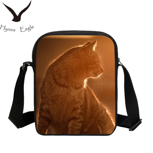 Beach Sugar Cat Messenger Bag