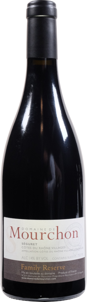 Mourchon Family Reserve Syrah 2014