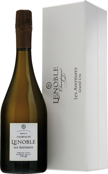 Lenoble Les Aventures Grand Cru Blanc de Blancs mit Coffert