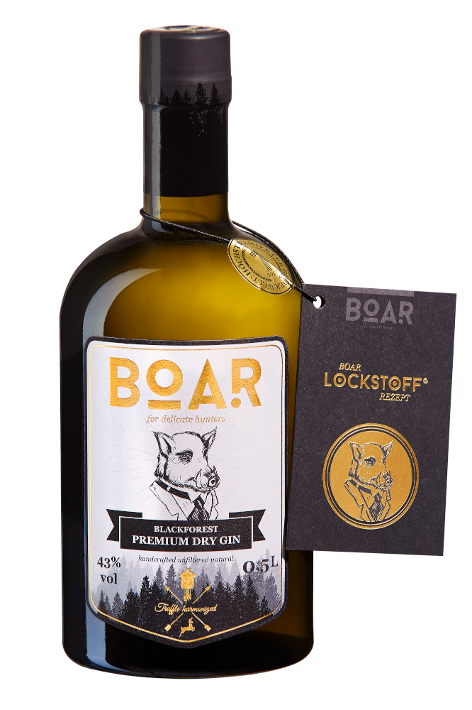 BOAR- Black Forest Dry Gin