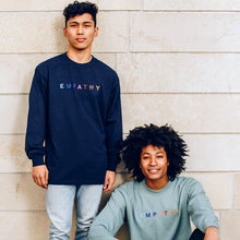 Load image into Gallery viewer, Empathy Colors Longsleeve (Navy)