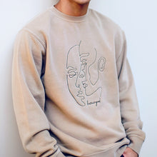 Load image into Gallery viewer, Human Crewneck (Tan)