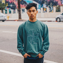 Load image into Gallery viewer, Goodhuman Crewneck - Green