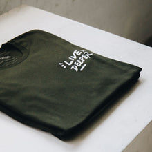 Load image into Gallery viewer, Live Deeper Tee - Dark Olive