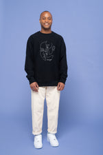 humangood French Terry Crewneck - Black