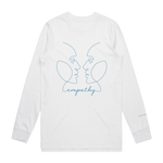 Eye to Eye Long Sleeve Tee - White
