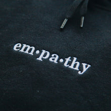 Load image into Gallery viewer, Empathy Hoodie - Black