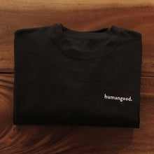 Load image into Gallery viewer, Humangood Crewneck - Black
