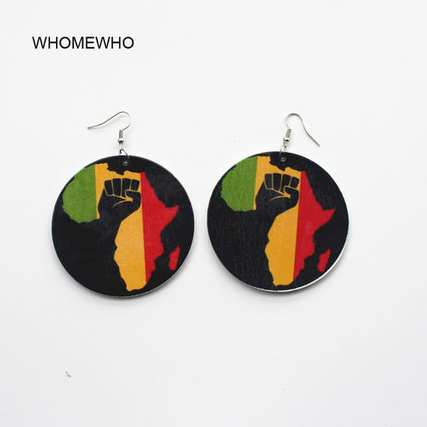 Power to the People Africa Earring