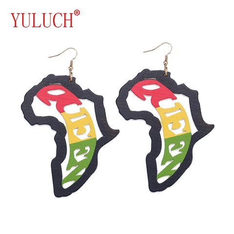 Africa/Queen  Earrings