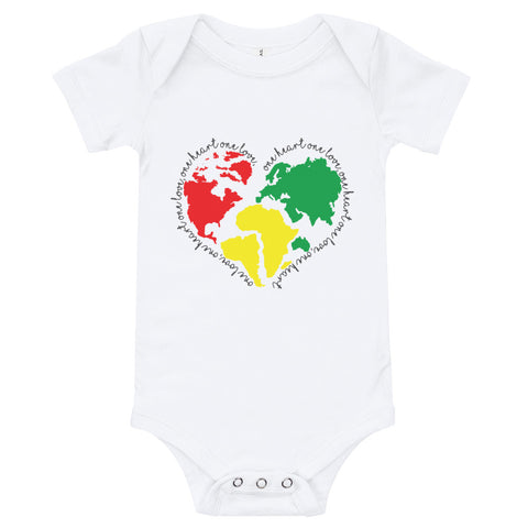 One Love World Onesie
