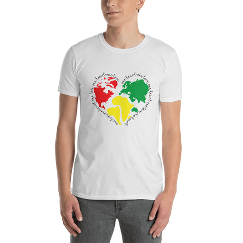 One Love One Heart Unisex T-Shirt