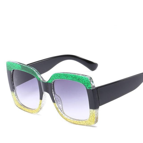 Oversized Jamaica Color SunGlasses