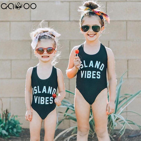 Girls' ISLAND VIBES Swimsuit