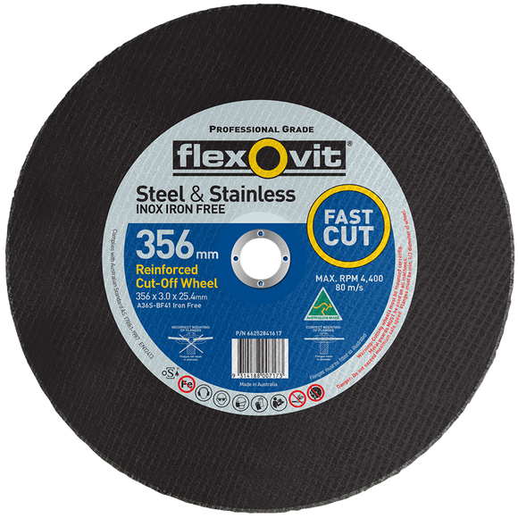 DISC CUTTING 356 x 3.0 x 25.4 LOW SPEED (A-66252841617)