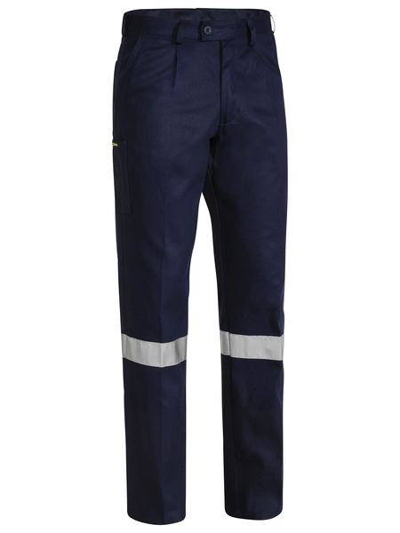 WORK PANT NAVY REFLECTIVE STRIP (C-BP6007T)