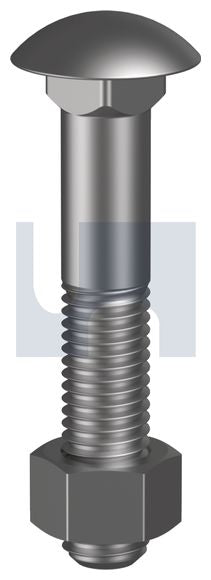 CUP HEAD BOLT & NUT BSW (F-BSWCB)