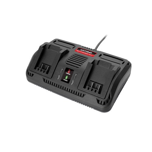 BATTERY CHARGER TWIN PORT 18V (M-220310)
