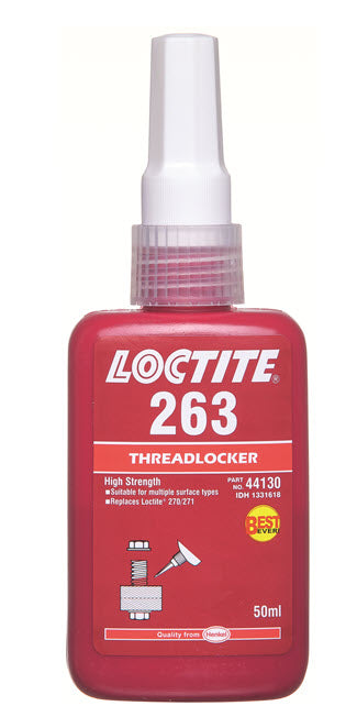LOCTITE 263 THREADLOCKER HIGH 50ML (M-263)