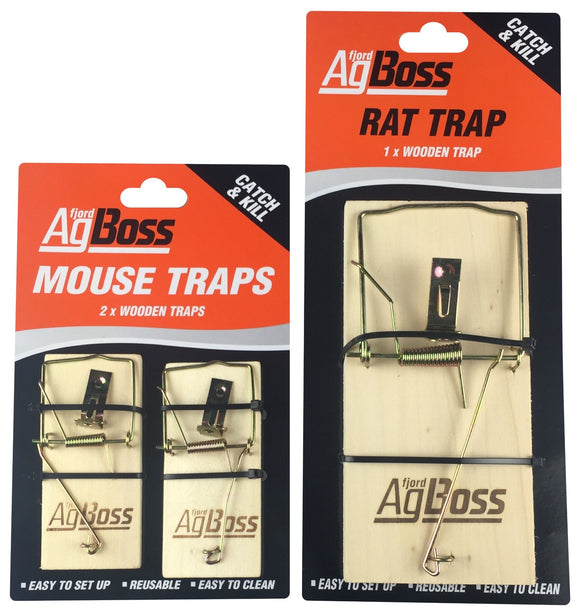 WOODEN RAT TRAP (M-300260)