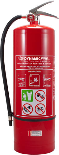 FIRE EXTINGISHER WATER 9KG (M-FE9.0KGW)