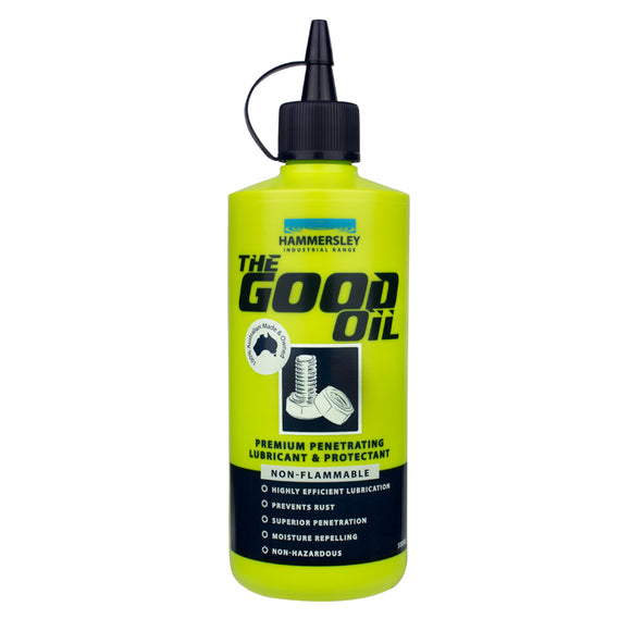 HAMMERSLEY GOOD OIL LUBRICANT 500ml (M-H1027)