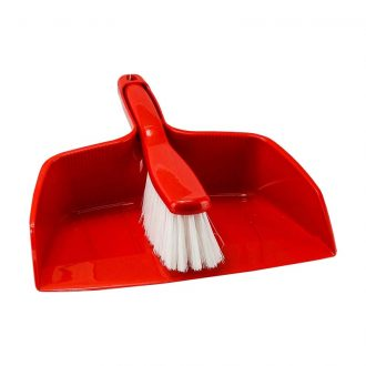 DUST PAN & BROOM 25CM (M-JHBBP25)