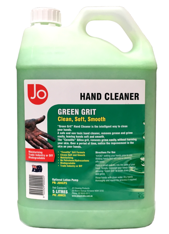 HAND CLEANER GREEN GRIT 5L (M-JOHC5)