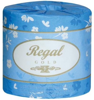 Regal Gold Toilet Roll 2 ply 400 sheet 48 rolls (M-KRG400/2)
