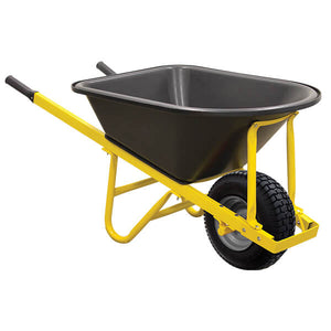 WHEELBARROW POLY TRAY WIDE WHEEL (M-WBR103)