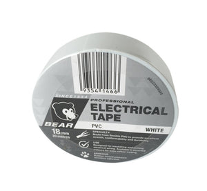 TAPE ELECTRICAL WHI 18mm X 20m (P-66623336545)