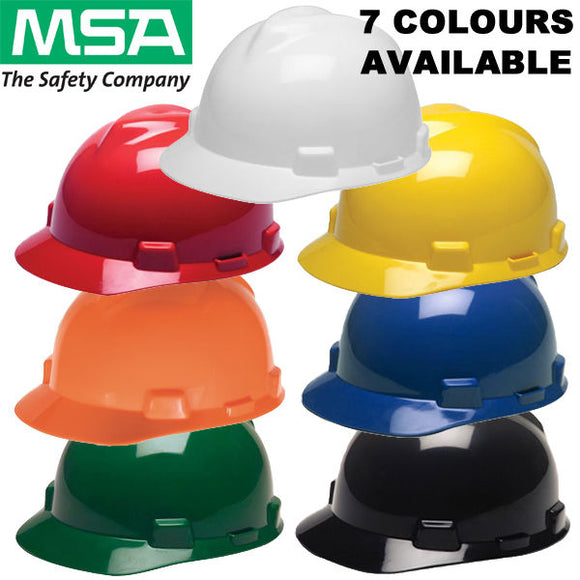 HARD HAT V-GARD ELITE MSA WHITE (SAF-01MS12)