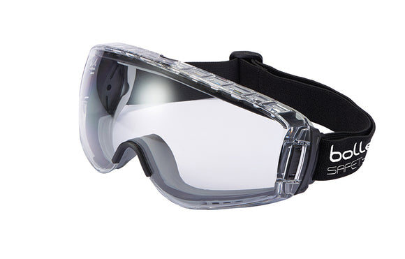GOGGLE SAFETY PILOT 2 BOLLE - CLEAR (SAF-02PIL01)