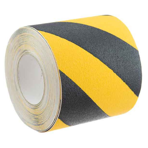 ANTI SLIP TAPE 75MM x 18M YELLOW/BLACK (SAF-843827)