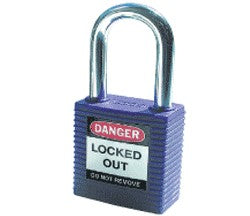 PADLOCK SAFETY 38MM x 44MM x 18MM PURPLE (SAF-853204)