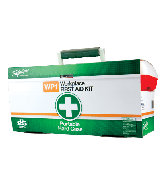 FIRST AID KIT HARD CASE - WP1 (SAF-876477)