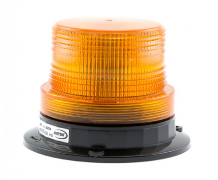 BEACON LED LIGHT 12V AMBER (SAF-AL1206ABM)