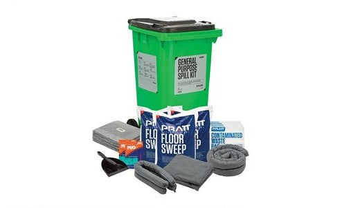 SPILL KIT GENERAL PURPOSE 240L BIN (SAF-ESKGP240)
