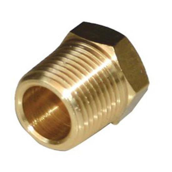 BRASS FITTING PLUG 1/2'BSP (VF-BP12)