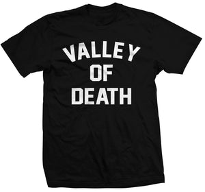 Valley Of Death Tee - Black