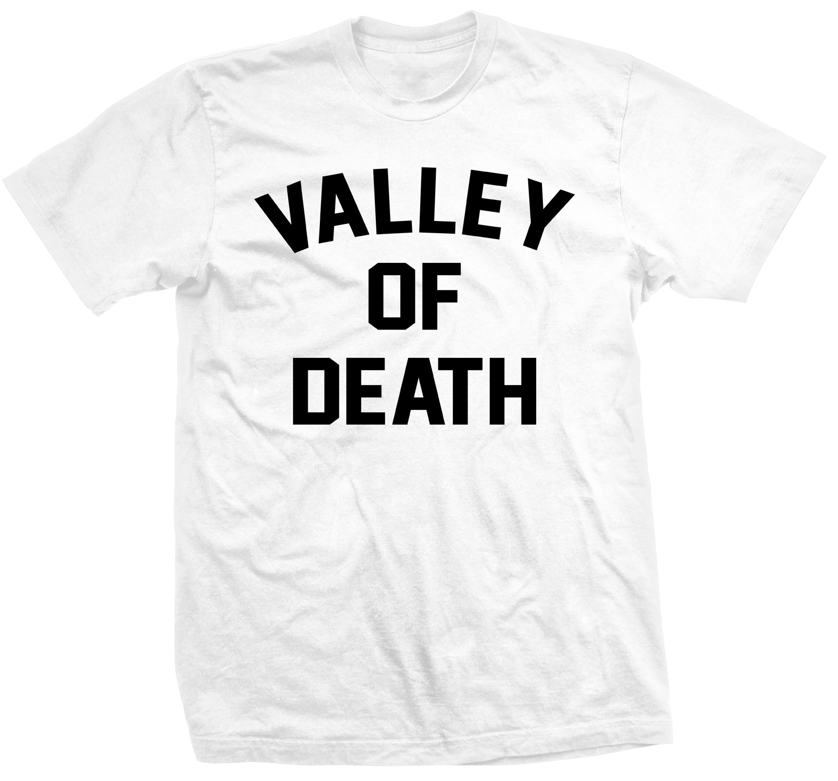 Valley Of Death Tee - White