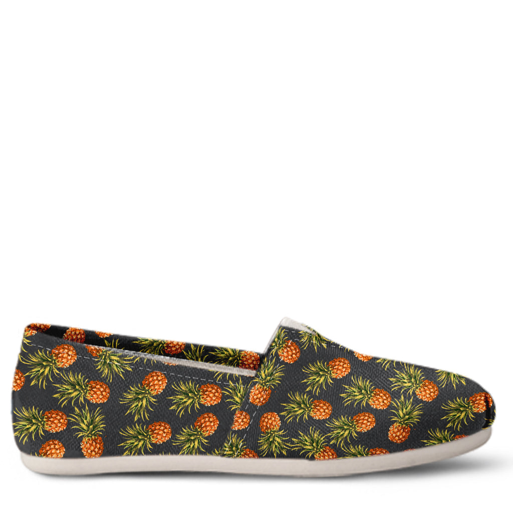 Pineapple Women's Slip-On Shoes