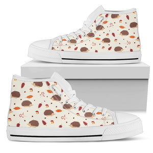 Hedgehog Women's High Top Sneakers