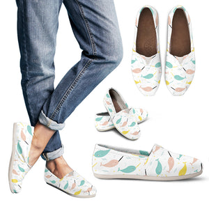 Narwhal Women's Slip-On Shoes