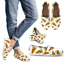 Pizza Women's Slip-On Shoes