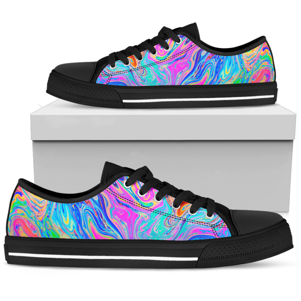 Psychedelic Low Top Shoes