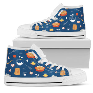 Baking Lover Women's High Top Sneakers