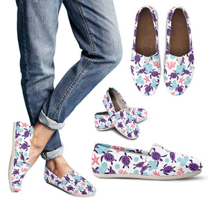 Turtle Women's Slip-On Shoes