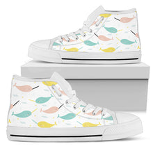 Narwhal Women's High Top Sneakers